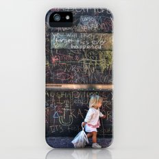 Taking my Chalk and Going Home Slim Case iPhone (5, 5s)