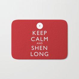 Keep Calm and Shen Long Bath Mat