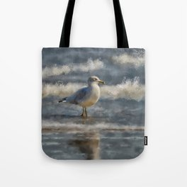 Seagull By The Seashore Tote Bag