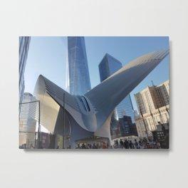 Calatrava's World Trade Center Metal Print
