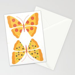 Monarch Pizza Stationery Cards