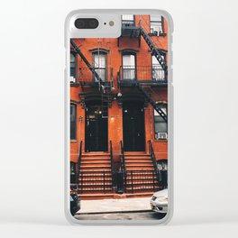 Brooklyn Walkup Clear iPhone Case