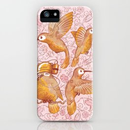 Hector The Lazy Hummingbird iPhone Case
