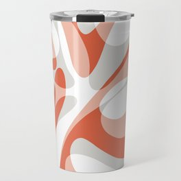 Coral Wave Travel Mug