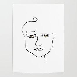 Baltas Poster