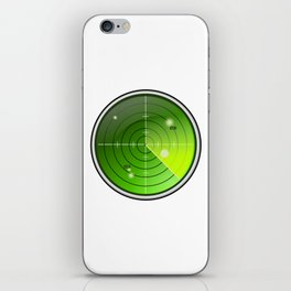 Submarine / Battleship Radar Detector iPhone Skin