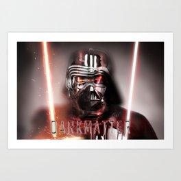 Kylo&Vader redux Art Print