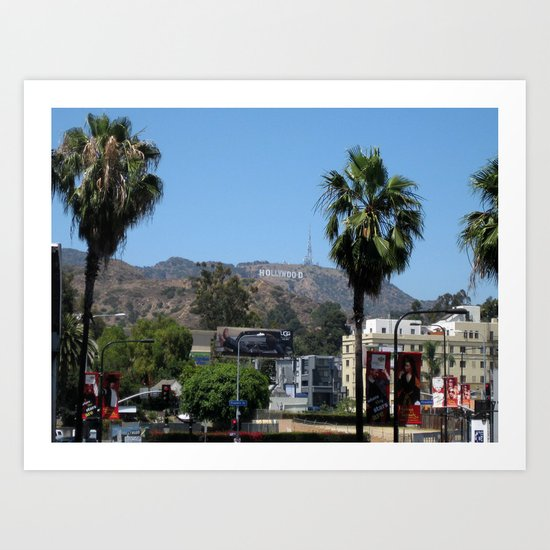 Hollywood Art Print