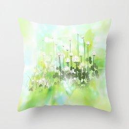 Klee - clover Throw Pillow