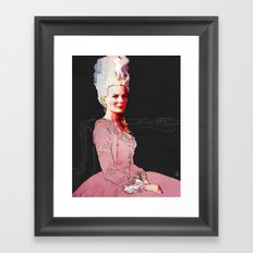Kirsten Dunst as Marie Antoinette Framed Art Print