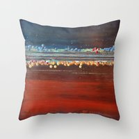 bubbles Throw Pillows featuring bubbles by brenda erickson