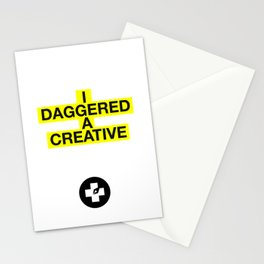 I Daggered A Creative Stationery Cards