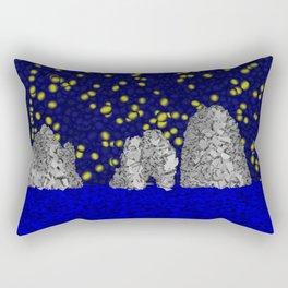 Starry Capri Rectangular Pillow