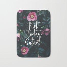 Not Today Satan Bath Mat