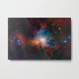 Orion Nebula Space Art Metal Print