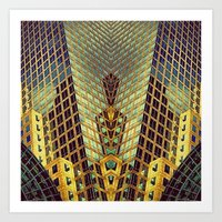 art deco Art Prints featuring Art Deco by Sabina Miklowitz
