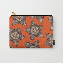 stapelia flower Carry-All Pouch
