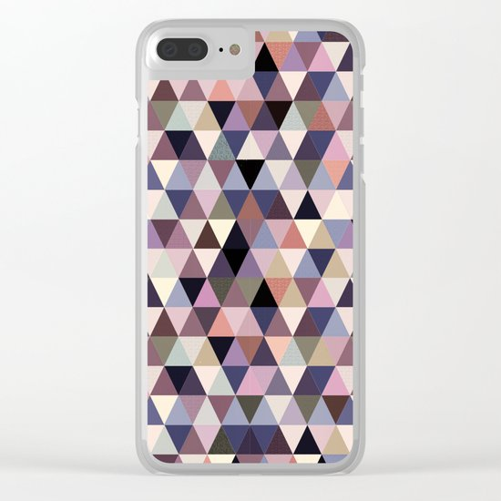 Abstract #364 Clear iPhone Case