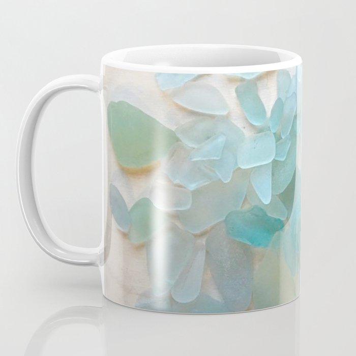 Ocean Hue Sea Glass Kaffeebecher