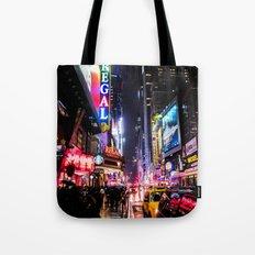 New York City Night Tote Bag