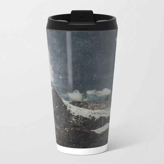 Glacial Shift Metal Travel Mug