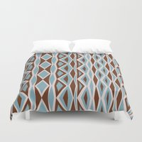 diamonds Duvet Covers featuring Diamonds by ghennah