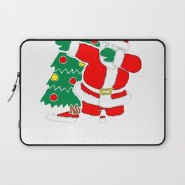 DABBING AROUND THE CHRISTMAS TREE T-SHIRT Laptop Sleeve