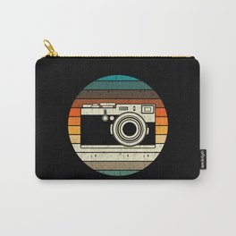 Vintage Retro Camera Photographer Gift Carry-All Pouch