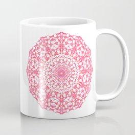 Mandala 12 / 4 eden spirit ruby red Coffee Mug