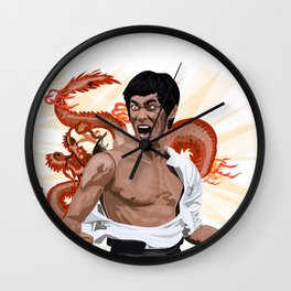 The Good Dragon Wall Clock