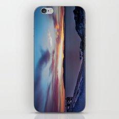 Glorious Blue Night iPhone & iPod Skin