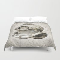 scuba Duvet Covers featuring scuba diving by PRIMATE
