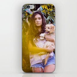 Kate and her Pups iPhone Skin