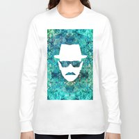 walter white Long Sleeve T-shirts featuring Walter White by Lauren Miller