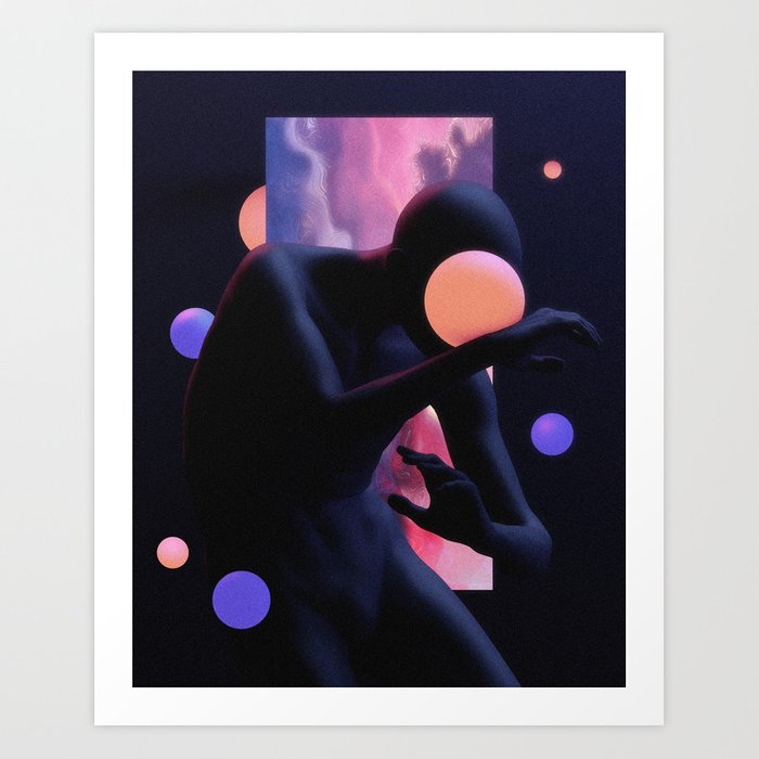 Dazzled Art Print