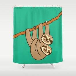 Cute Sloths!! Shower Curtain