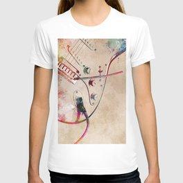 Guitar art 13 #guitar #music T-shirt