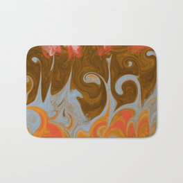 Fire and Water Bath Mat