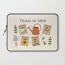 Things to Grow - Garden Seeds Laptop Sleeve
