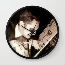 Character Portrait of 'The Necromancer' Wall Clock