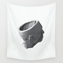 Head Morphology Wall Tapestry