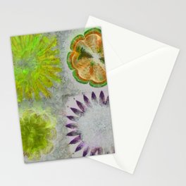 Caudocephalad Imagination Flower  ID:16165-011823-84320 Stationery Cards