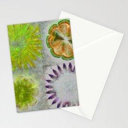 Caudocephalad Imagination Flower  ID:16165-011823-84320 Stationery Cards