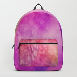 Watercolor background Backpack