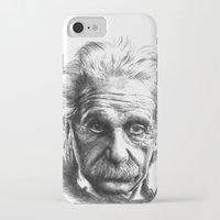 einstein iPhone & iPod Cases featuring Einstein by Jaume Tenes