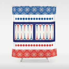 Backgammon – it's a GAME Shower Curtain