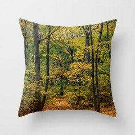 October Forest 3 Throw Pillow
