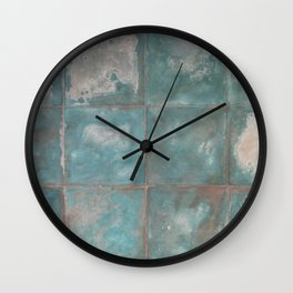 Moroccan vintage tile by LikaRamati Wall Clock