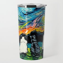 Starry Cats Travel Mug