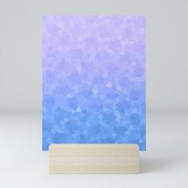 Ombre Violet Mini Art Print